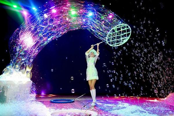 Применение мыльных пузырей
